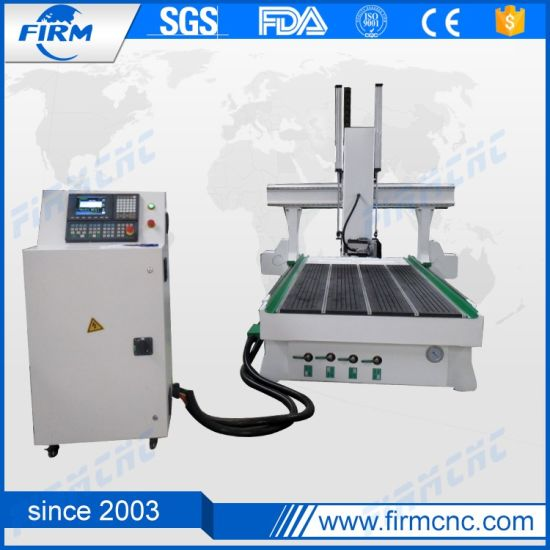 Ce Certificated Syntec CNC Controller Woodworking 4 Axis CNC Router