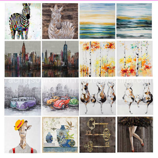 Modern Hand Painted Canvas Art Oil Painting Canvas Printing Wall Art