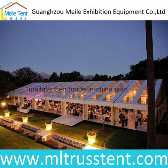 600 People Luxury Outdoor Transparent Events Tent 15m*40m