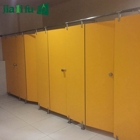 China Jialifu Formica Laminate Toilet Partition System