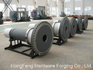 Open Die Forging Main Shaft Wind Turbine pictures & photos