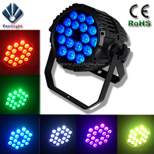 Mini IP65 RGBW/4in1 18X10W LED PAR Can Stage Light pictures & photos