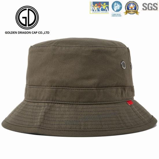 3fb25fc5732 High Quality Fashion Custom Cotton Fishing Cap  Bucket Hat pictures   photos