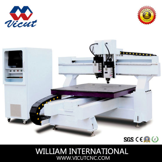 High Precision Table Move Atc CNC Router Acrylic Letter Cutting (VCT-2513ATC) pictures & photos