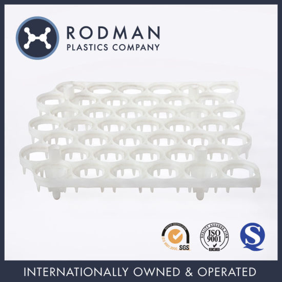 Standard Nestable Rodman PP Plastic Egg Crate for Packing 42 Eggs