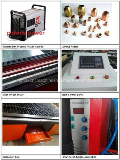 Plasma Cutting Machine Hypertherm 105A CNC Metal Laser Cutter pictures & photos