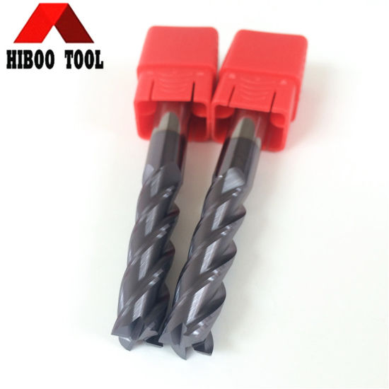 Good Quality Cheap HRC55 Long Flutes Carbide Cutting Tool for Cast Iron pictures & photos