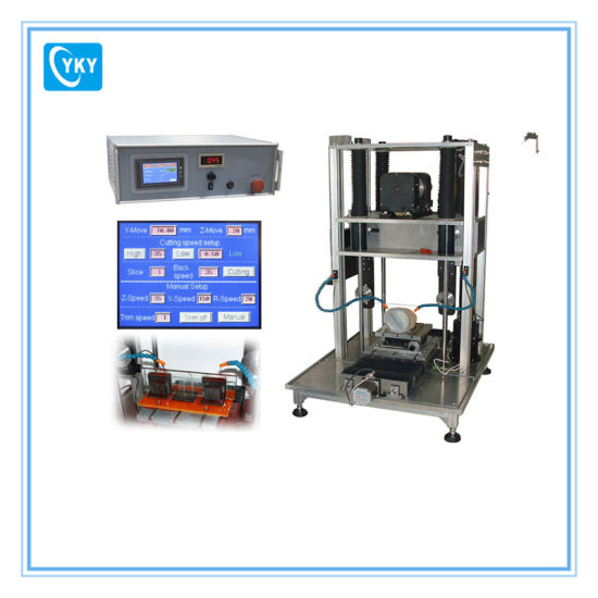 China Precision Diamond Wire Cutting Machine with Sample Stage ...