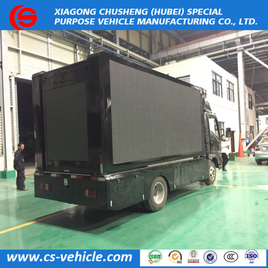 China P6 P8 HOWO 4X2 LED Mobile Stage Truck Outdoor Mobile