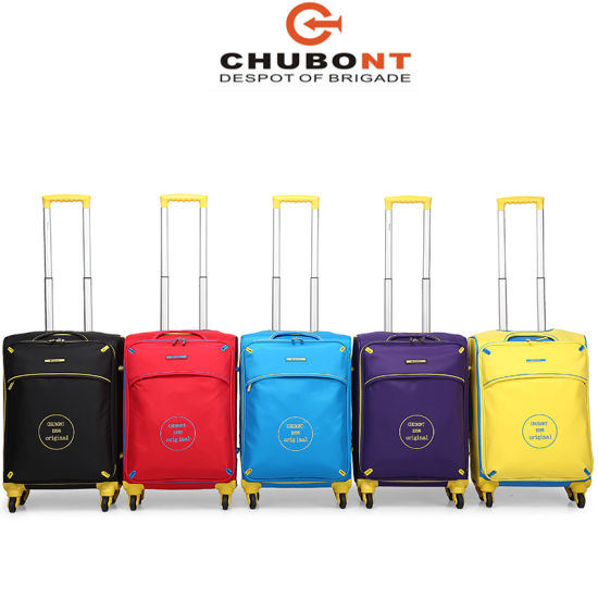 Chubont Leisure Supper Light 4 Wheels Travel Luggage Bag Set pictures & photos