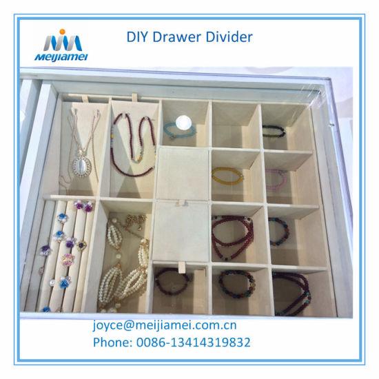 China Diy Drawer Jewelry Tray Fashion Jewelry Organizer China Closet Jewelry Tray Insert And Furniture Hardware Price