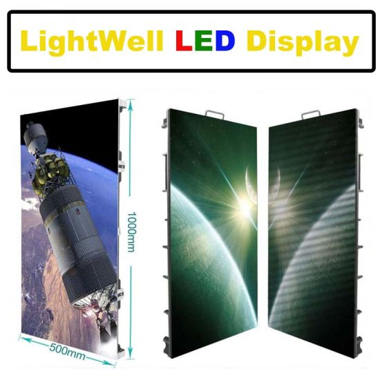 LED Advertising Display Board Indoor Outdoor P3.91 P4.81 Stage LED Screen for Concert with Aluminum Cabinet 500*1000