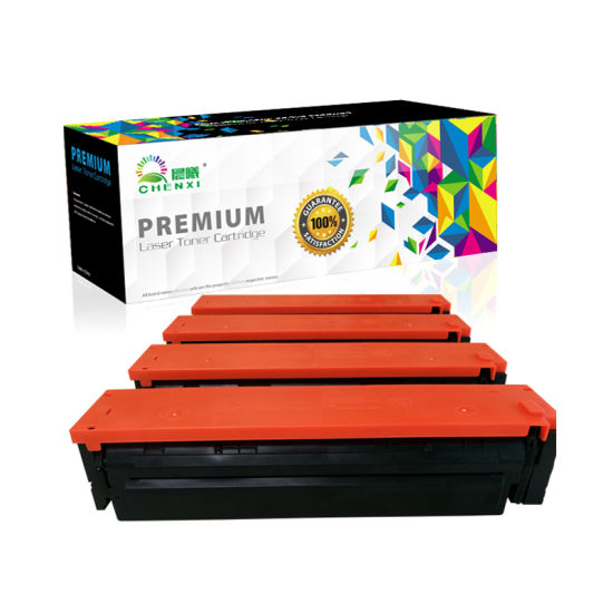 202A Toner Cartridge CF500A CF501A CF502A CF503A for HP M254dw M280nw M281fdw Printer From Manufacturer