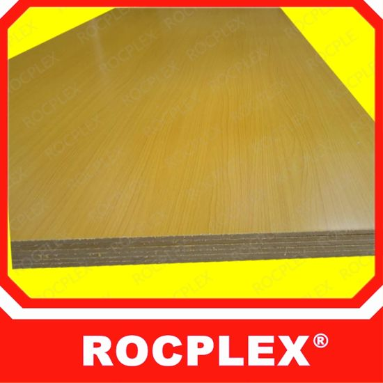 China Glossy Melamine Board and Melamine Board Price for Melamine