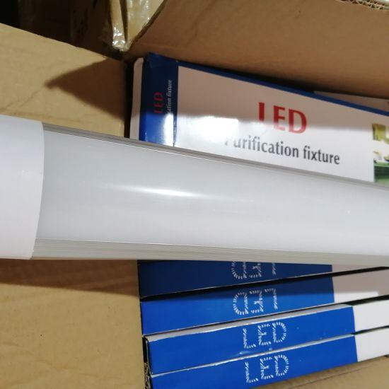 High Power Cheap Price LED Flat Tube 5000K 6000K 60cm 120cm LED Linear Light 20W 40W LED Batten Light 5 Years Warranty