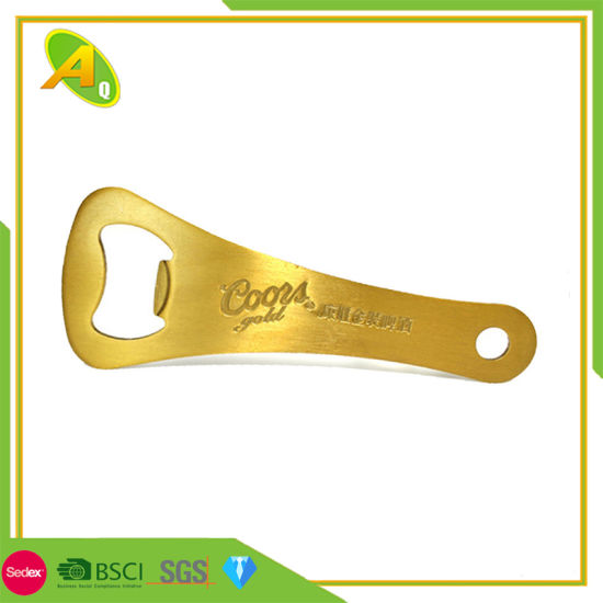 Souvenir Use Stainless Steel Cheap Bottle Opener Keychain (040)