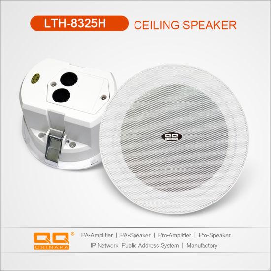IP55 Waterproof Ceiling Speaker with Rear Cover