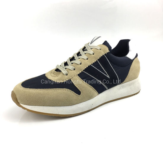 Newest Suede Leather Casual Sneaker Comfortable Fashion Sports Shoe