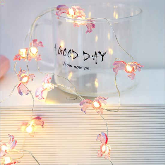 LED Unicorn String Light, Fairy Lamp Gift pictures & photos