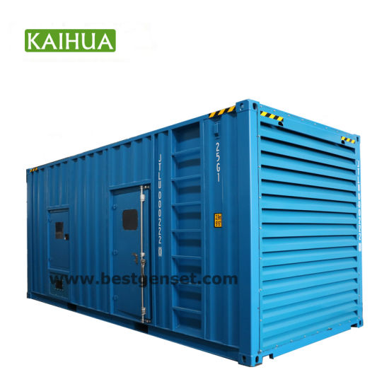 250/300/350/400kVA Super Silent/Soundproof Container Electric Diesel Generator Set Synchronize/Parallel