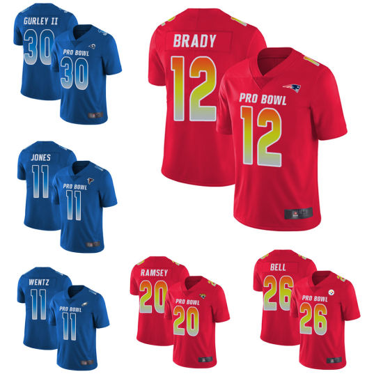 new concept d43b2 96a29 China Wholesale Todd Gurley II Tom Brady Custom Throwback ...
