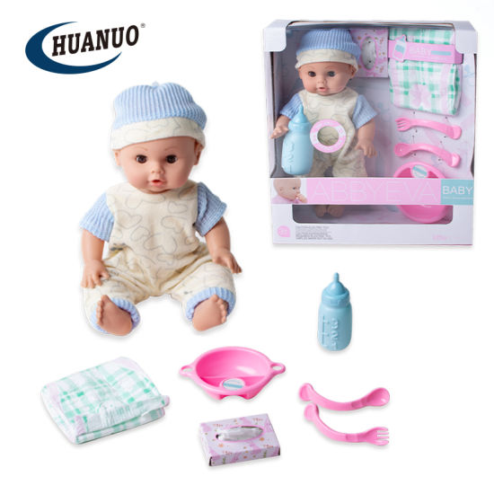 35cm Baby Doll Toy with Clothes and IC