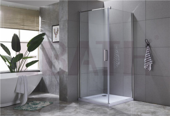Sanitary Ware Shower Screen: Pivot Shower Enclosure in Powys