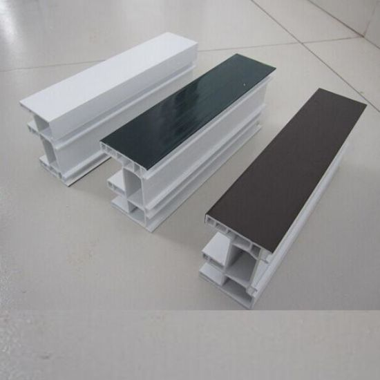 PVC Profile for Plastic Doors and Windows Plastic Profile pictures & photos