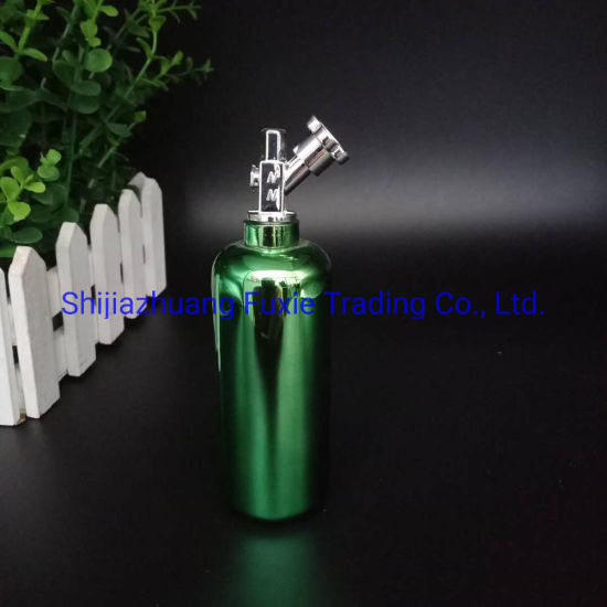 Nos Newest Electroplated Nitrogen Gas Flask 60ml Electroplating Bottle