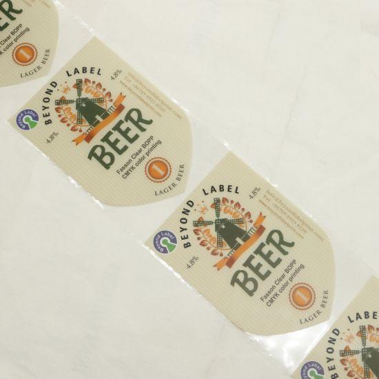 Bottle Label Paper Printing Freezer