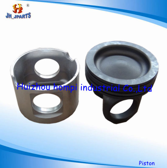 China Diesel Engine Parts Piston for Komatsu 6D105 Hino
