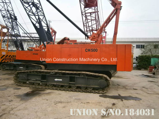 Ihi CH500 50t Used Original Japanese Secondhand Hydraulic Crawler Crane pictures & photos