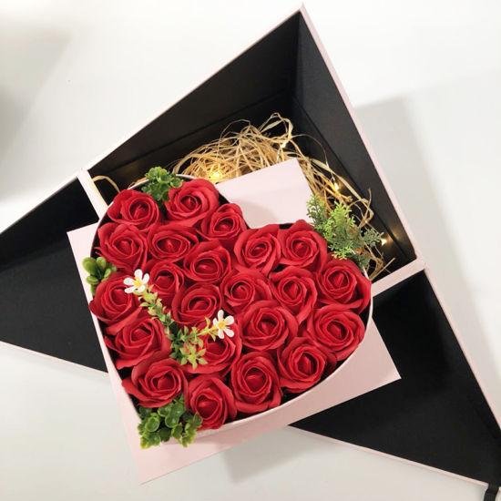 Saint Valentin Rose MDF