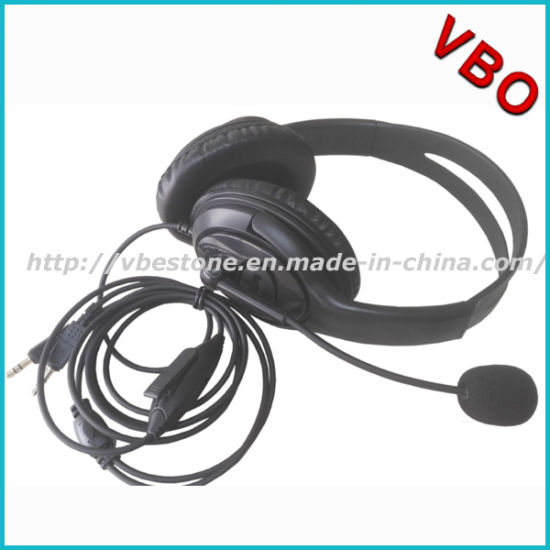 670ddda5a71 Noise Cancelling Call Center 3.5mm Headsets for PC pictures & photos