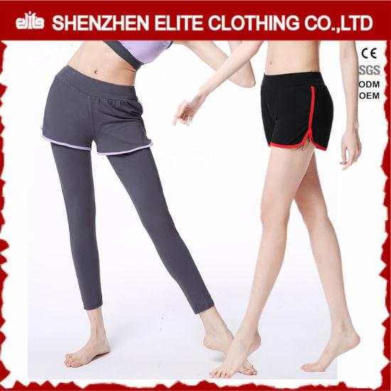 08752710e34bd Custom Logo High Quality Yoga Pants Short Leggings (ELTLI-87) pictures &  photos