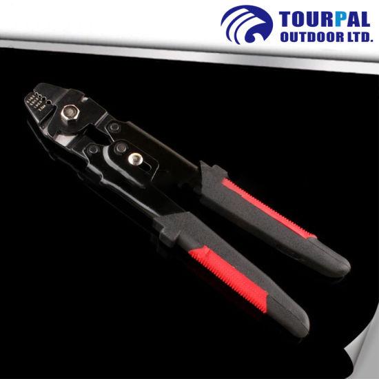 Non-Slip PVC Handle Crimping Tools Heavy Multi Crimping Pliers