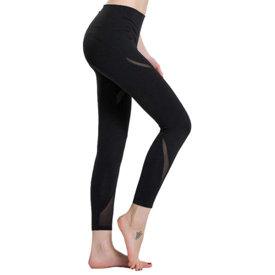 d0c74e251d220 China Women Polyester Spandex Compression Pants Fitness Leggings ...