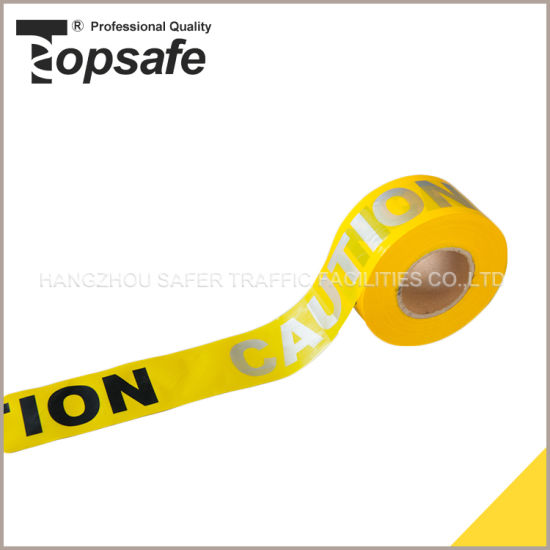 Barrier Reflective Warning Caution Tape pictures & photos