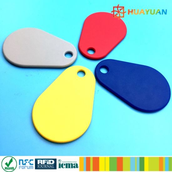 Durable MIFARE Classic 1K Nylon RFID keyfob Key Tag pictures & photos