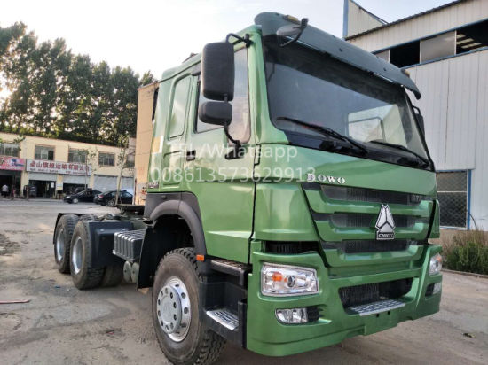Chinese Supplier Direct Selling Euro III 6X4 375HP Sinotruck HOWO Used Tractor Truck for Africa Market