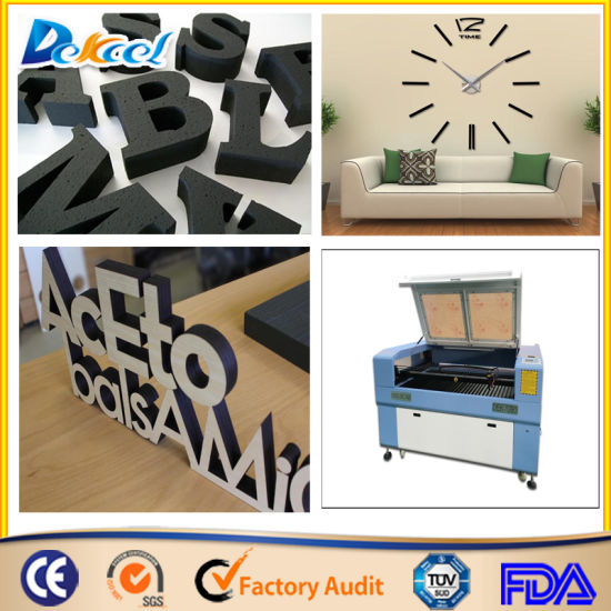 Ce FDA CO2 100W Laser Cutter Price Laser Cutitng Machine for Textile/Fabric/Wood/Foam/Glass pictures & photos