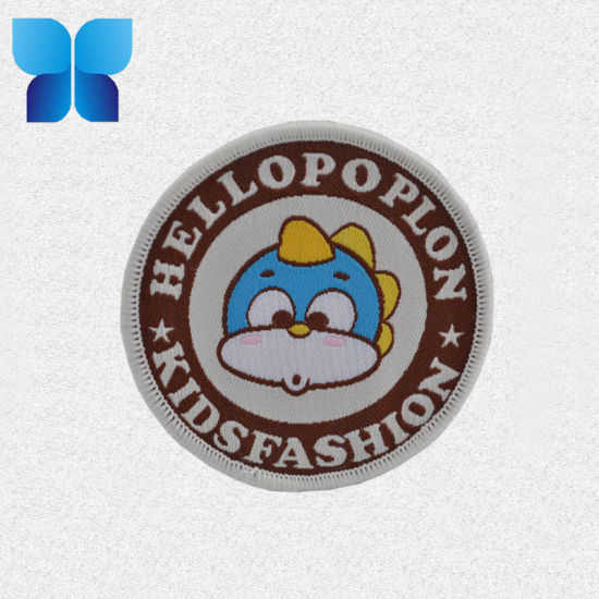 Custom Wholesale High Quality Promotion Woven Label Badges pictures & photos