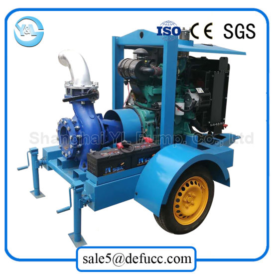 Single Suction Centrifugal Diesel Motor Water Pump for Agriculture pictures & photos