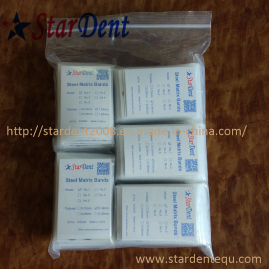 Dental Steel Matrice Matrix Bands of Surgical Medical Instrument pictures & photos