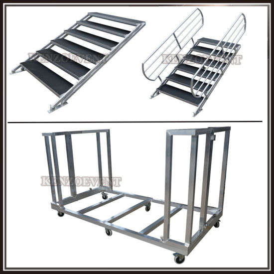 Aluminum Wooden Portable Stage Platform Adjustable Legs pictures & photos
