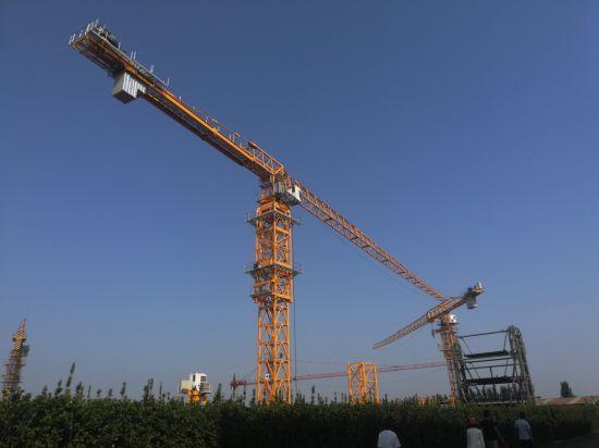 Dahan 8t Qtz100 (6013) Flat Top Tower Crane