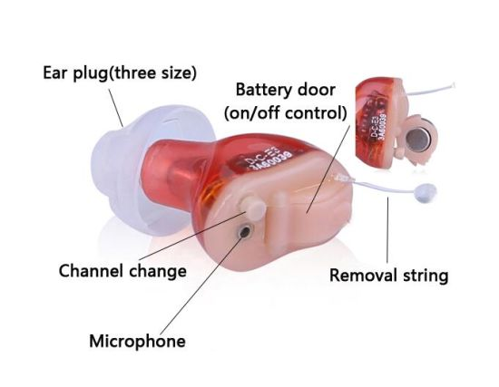Digital Hearing Aid 4 Channels, Invisible Mini Hearing Aid pictures & photos