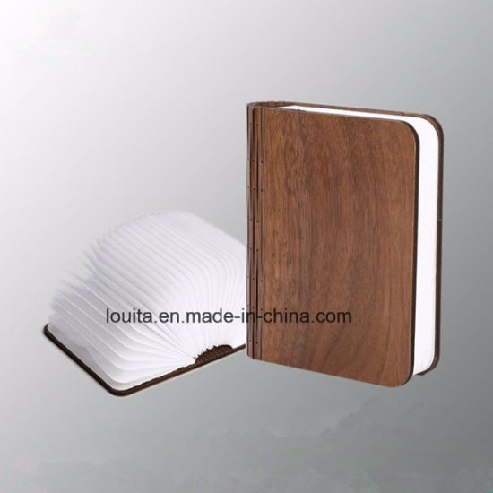 Wood Cover LED Reading Book Light for Camping Lighting pictures & photos