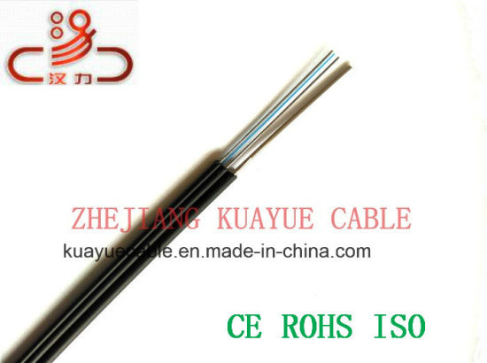 Fig8 Optical Fiber Cable FTTH Dorp Wire/Computer Cable/Data Cable/Communication Cable/Audio Cable/Connector pictures & photos