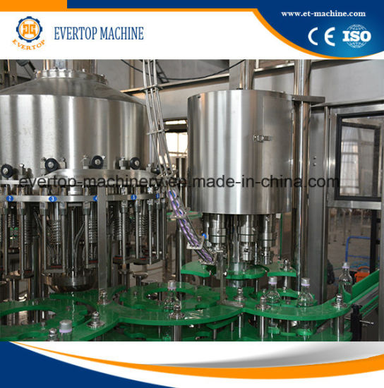 2017 Customized Automatic Glass Bottle Beverage Filling Machine pictures & photos